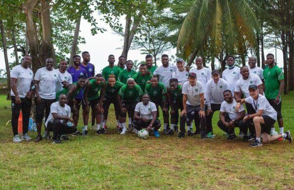 Qatar 2022: Super Eagles begin training for Liberia