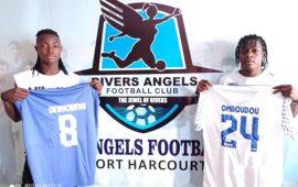 CAFWCL: Rivers Angels unveil Omboudou, Okwuchukwu
