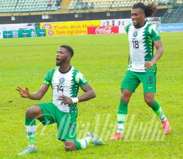 Rohr: First half goals inspired good football from us