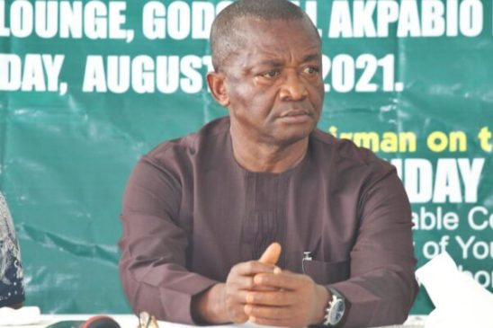 Lawrence Iquaibom: States to have access to weightlifting equipment