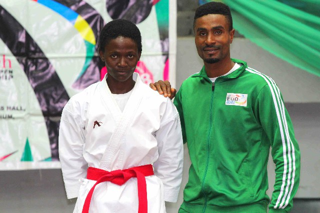 Karate: Kelly Charles wins 2 gold at 1st Int'l outing
