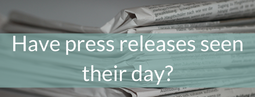 Have press releases seen their day?