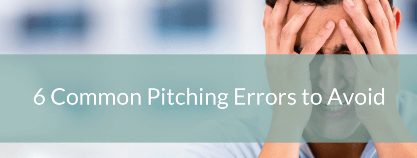 6 Common Pitching Errors to Avoid