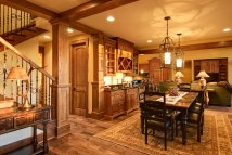 Mountain-lodge-home-dining-room Acm Design Architecture
