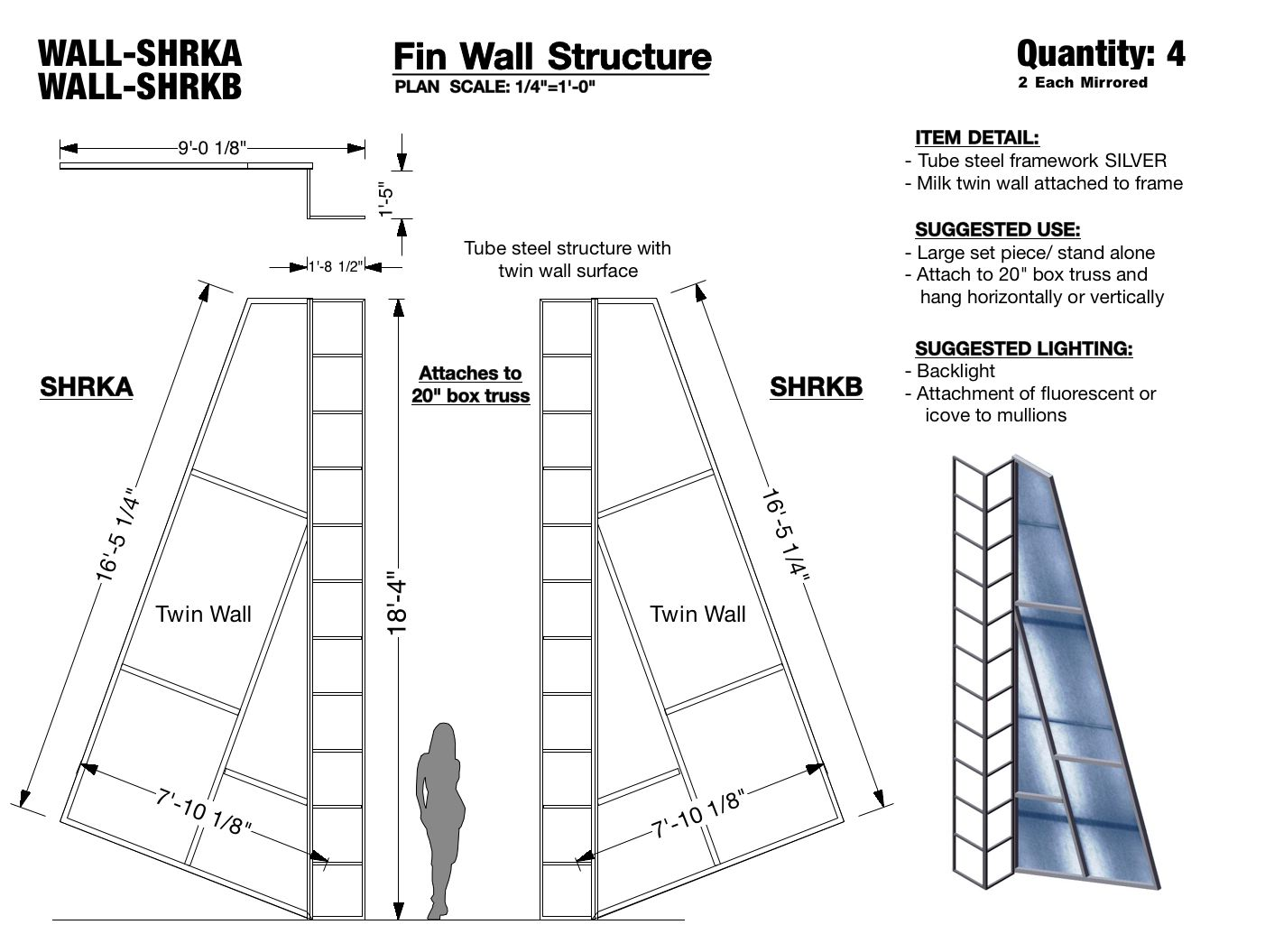 Fin Wall Structure