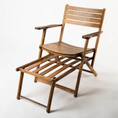 Vintage Wooden Chairs Uchida Japanese Folding Z Chair Ch060 Beach Prop Rental Acme Brooklyn Front View Of