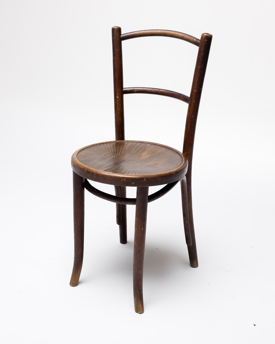 CH085 Two Pane Wood Chair Prop Rental  ACME Brooklyn