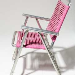 Pink Beach Chair For Babies To Learn Sit Up Ch447 Victoria Folding Prop Rental Acme Brooklyn Alternate View 2 Of