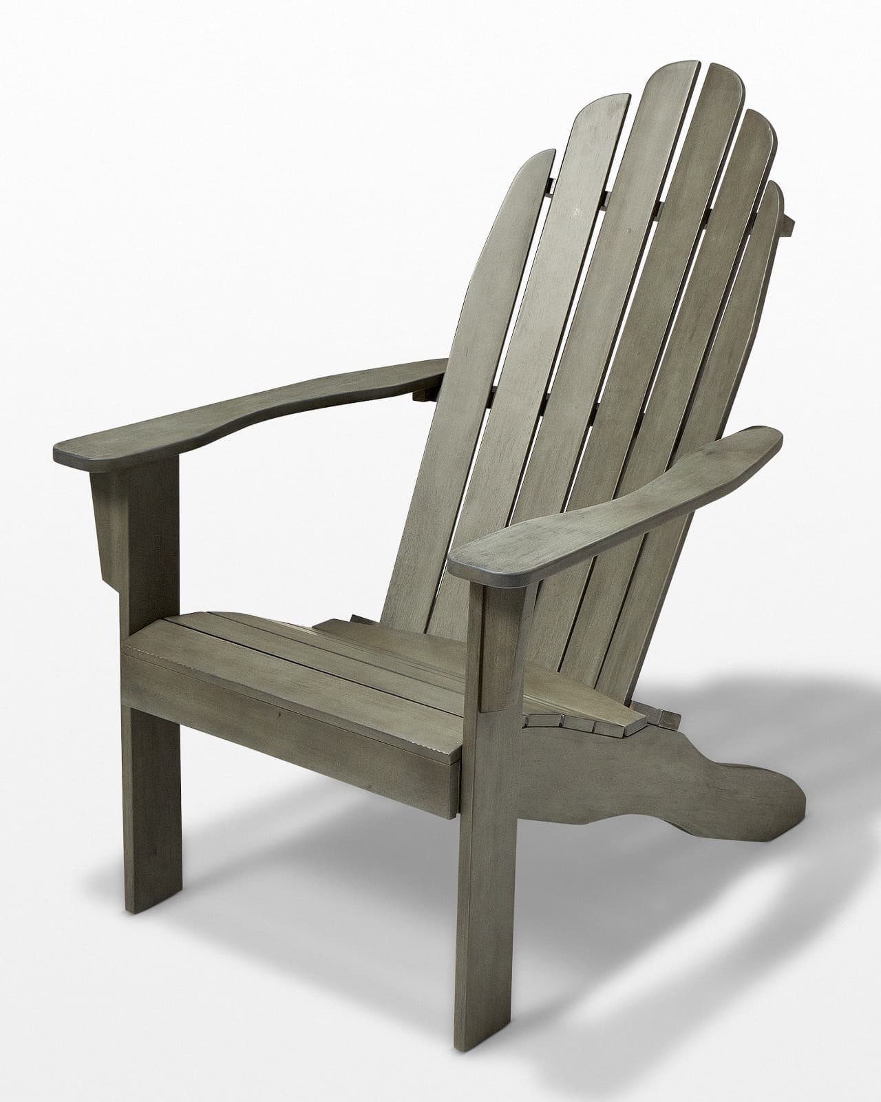 gray adirondack chairs back massage chair ch517 grey wash wood prop rental acme