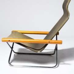 Canvas Sling Chair Vinyl Padded Folding Chairs Ch574 Jax Prop Rental Acme Brooklyn Alternate View 3 Of