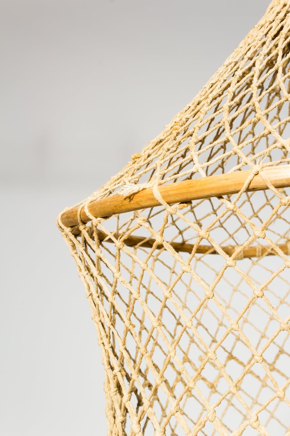 TA297 Woven Hoop Rope Net Prop Rental  ACME Brooklyn