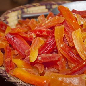 Dried Papaya Slices