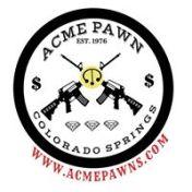 gun pawn, gold jewelry loans, acme pawn logo
