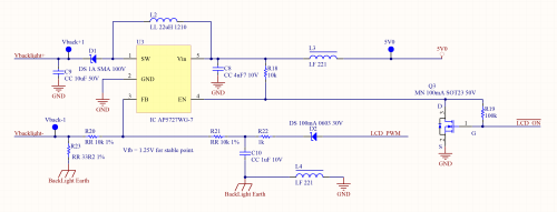 small resolution of how to design the lcd circuitry lcd backlight circuit diagram