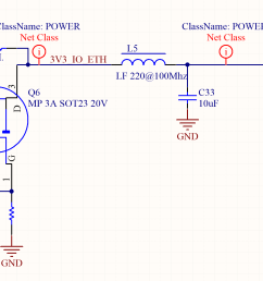 in order to save energy when the ethernet is not required their power can be software controlled in a separated power domain using a mosfet driven by a  [ 2202 x 1106 Pixel ]
