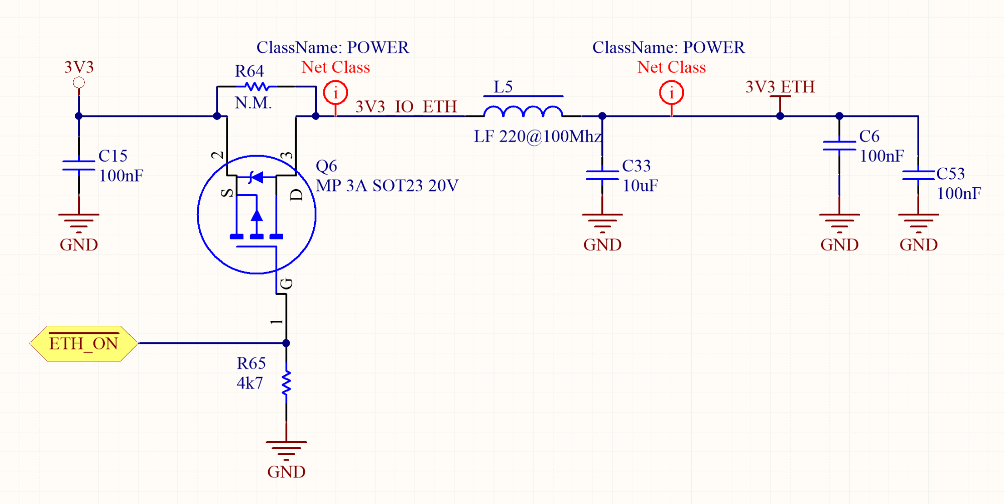 hight resolution of in order to save energy when the ethernet is not required their power can be software controlled in a separated power domain using a mosfet driven by a