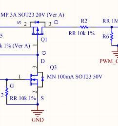 if this low pass filter has a cutoff frequency low enough for the chosen pwm period the ripple over the analog signal is low  [ 2688 x 1576 Pixel ]