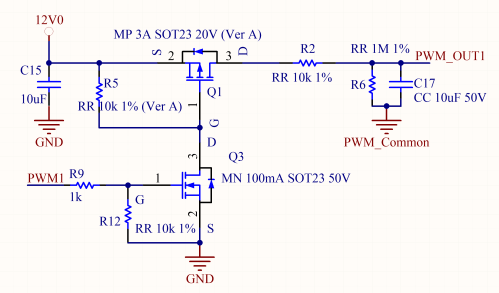 small resolution of if this low pass filter has a cutoff frequency low enough for the chosen pwm period the ripple over the analog signal is low