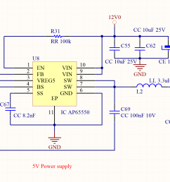 the main voltage can be up to 18v and the mcu can be powered cascading a little ncp1529 from the 5v as done in the example 1  [ 2228 x 1154 Pixel ]
