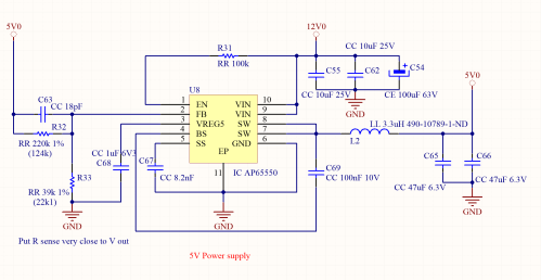 small resolution of the main voltage can be up to 18v and the mcu can be powered cascading a little ncp1529 from the 5v as done in the example 1