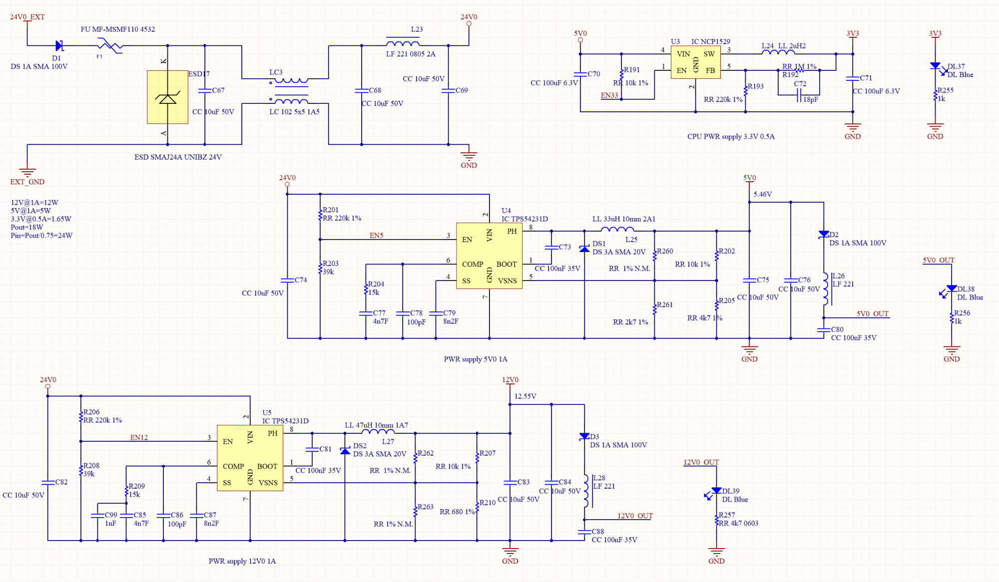 hight resolution of  with a circuit similar to the one described in example 1 once again the mcu 3 3v power supply comes from a tiny ncp1529 powered by the internal 5v