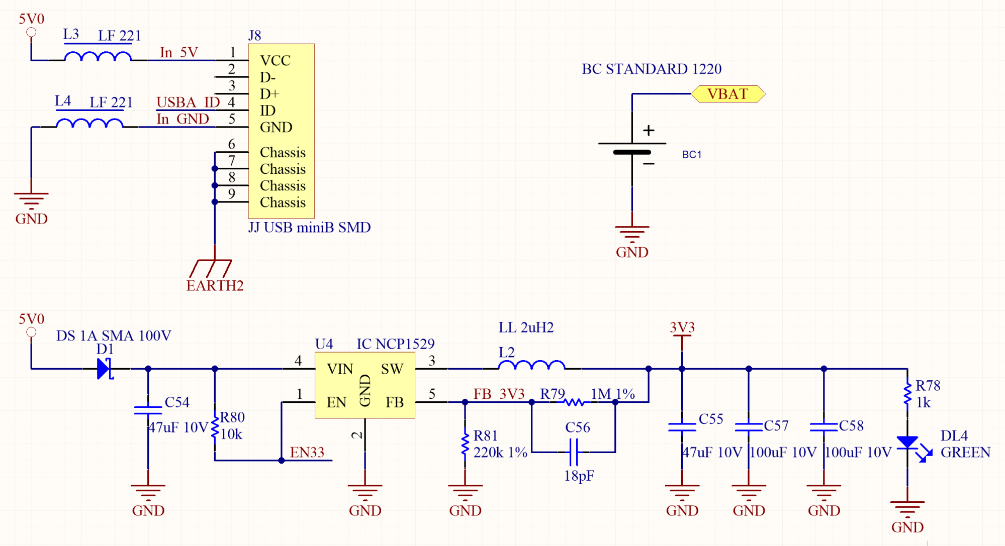 hight resolution of if the 5v power supply is not reliable enough it s better to add some protection and filtering devices