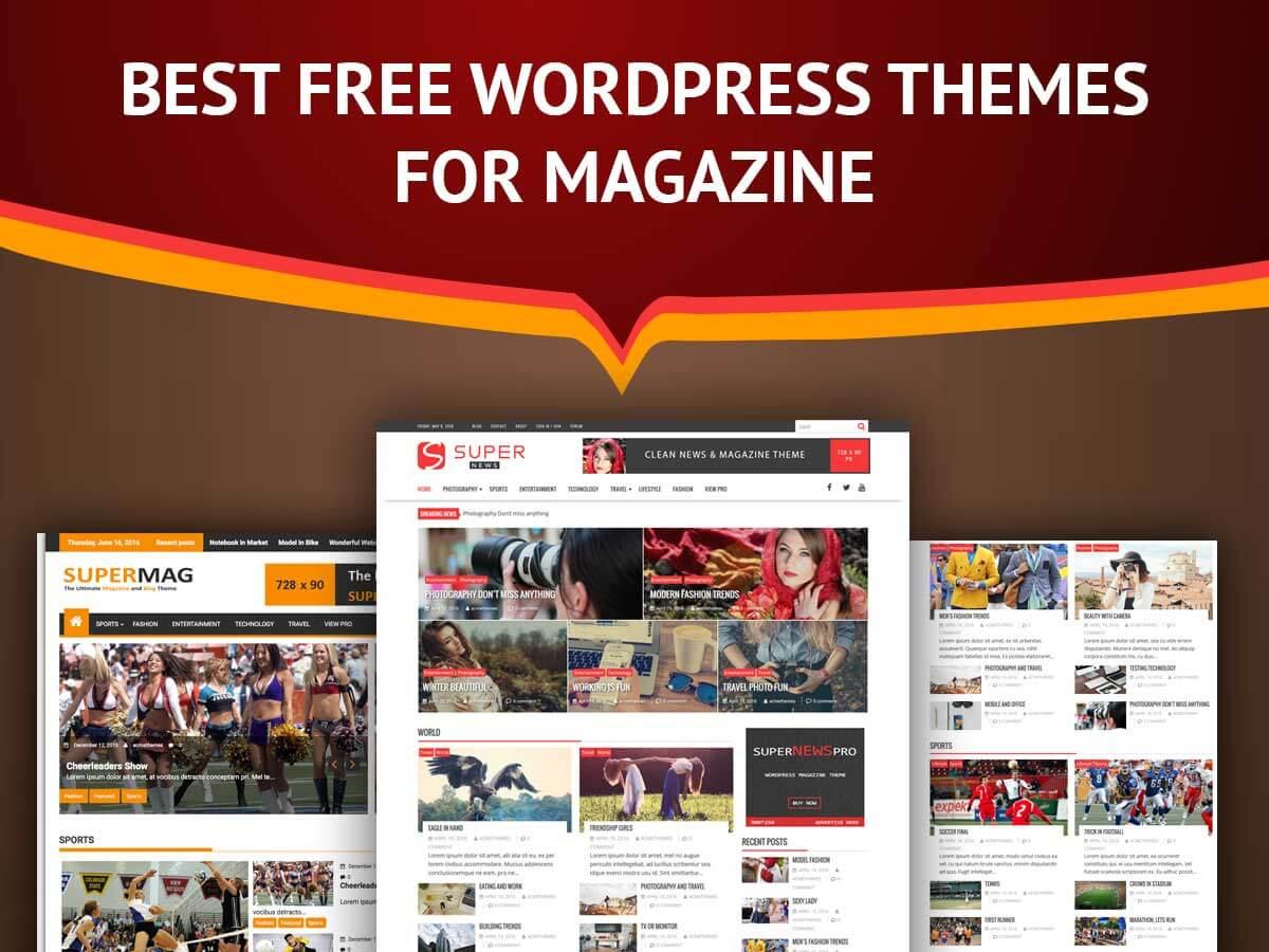 Best Free WordPress Themes For Magazine - Acme Themes
