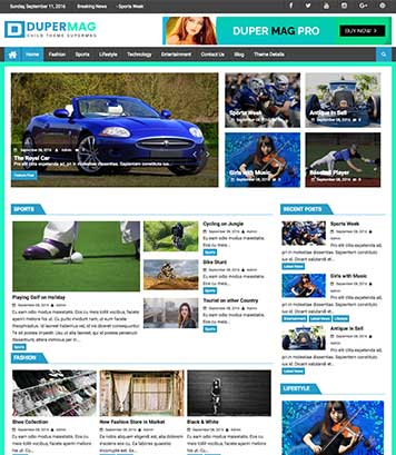 DuperMag - Perfect theme for magazine & news or reviews sites