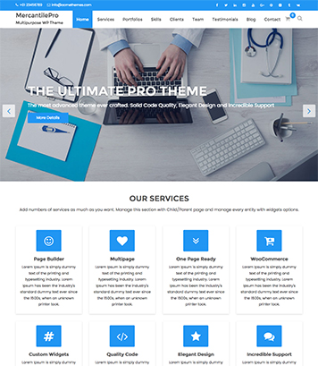 MercantilePro - Premium Multipurpose Responsive WordPress Theme