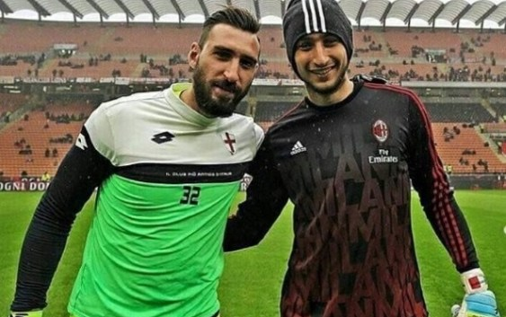 Antonio Donnarumma You Insult Without Knowing Gigio One Of You Ac Milan News