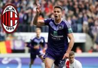 Anderlecht set price for Milan target