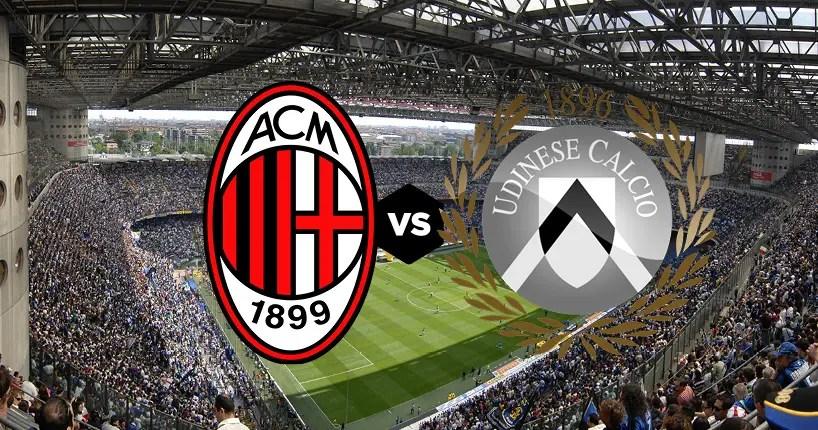 AC Milan vs Udinese, probable lineups | AC Milan News