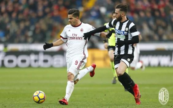 Andre Silva (Udinese vs AC Milan)