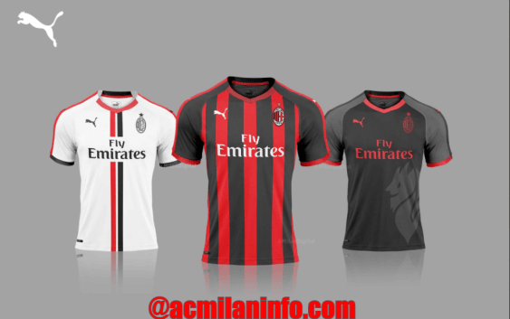 ffb6be16e01d Revealed: AC Milan Puma Jersey 2018 | AC Milan News