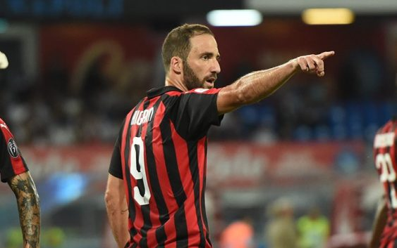 Image result for higuain milan
