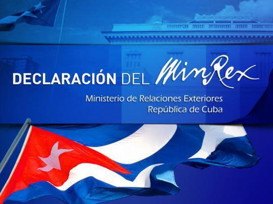 A continuación el texto íntegro de una Nota del Ministerio de Relaciones Exteriores en protesta por la pretensión del gobierno estadounidense de violar de modo flagrante la soberanía cubana, tomada del sitio oficial del MINREX.