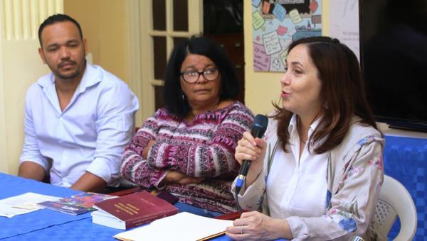 Mariela Castro (D), directora del Centro Nacional de Educación Sexual (Cenesex), interviene en la conferencia de prensa sobre las actividades que se realizarán para celebrar el aniversario 30 del Cenesex. La Habana, el 28 de marzo de 2018. ACN FOTO/Ulises PADRÓN SUÁREZ/Cenesex