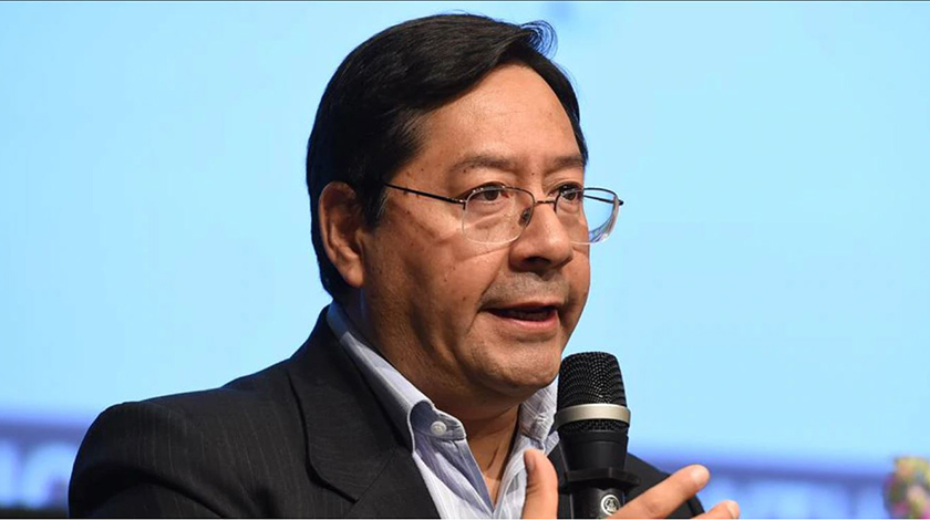 Luis Arce, Foto Archivo