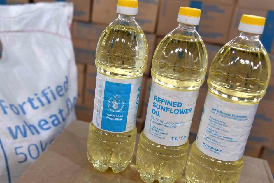 Rusia dona alimentos a Cuba