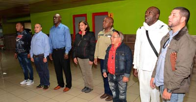 Cuban medical brigade returns from Sahrawi Arab Democratic Republic