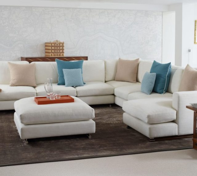 Attractive Modern Couches For Small Spaces Of Living Room ...