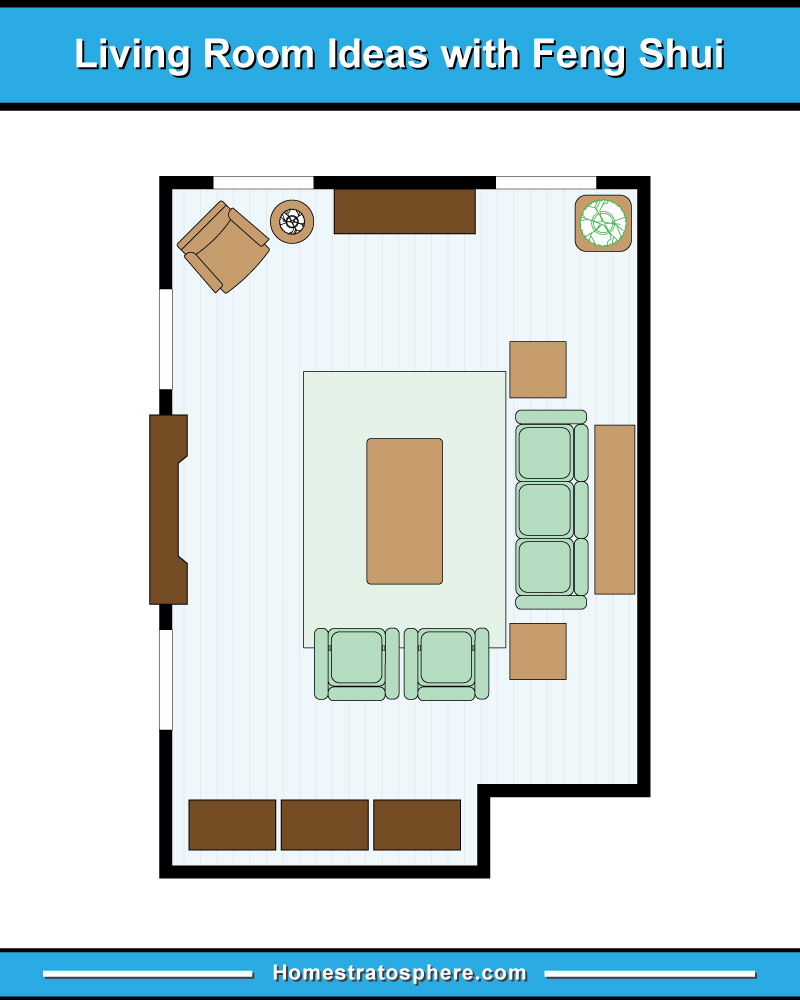 Cool Feng Shui Living Room Furniture Placement Of Layout
