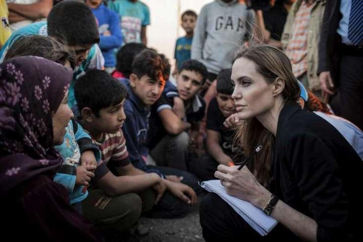 ACNUR - Enviada Especial Angelina Jolie