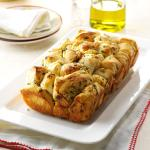 Super Easy Garlic Pull Apart Bread