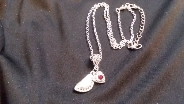 pierogi love necklace