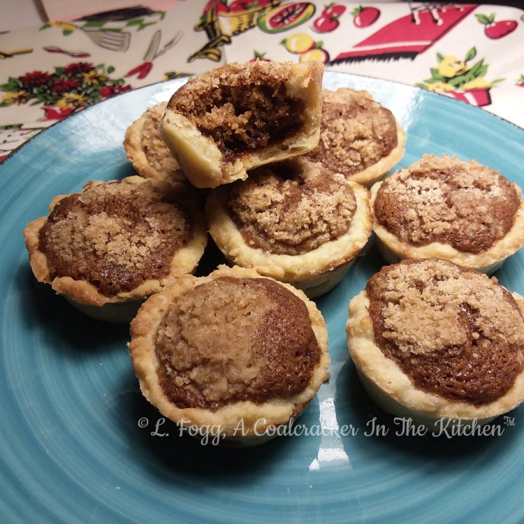 shooflettes - mini shoofly tarts