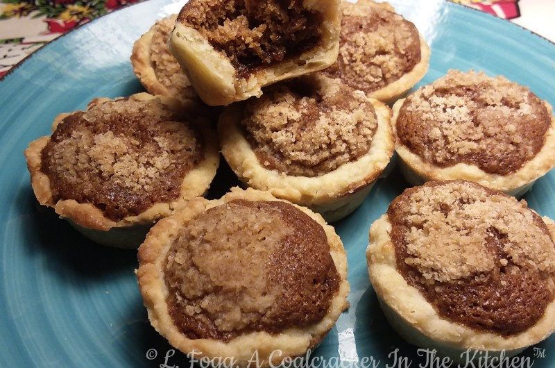 Shooflettes (Mini Shoofly Pies)