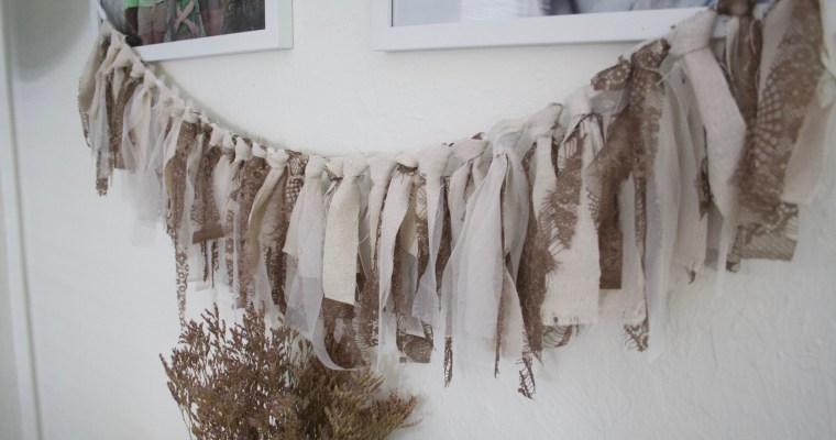 DIY Fabric Garland for Fall
