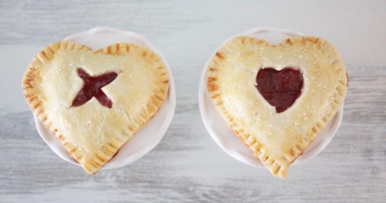 Heart Shaped Cherry Pie Recipe