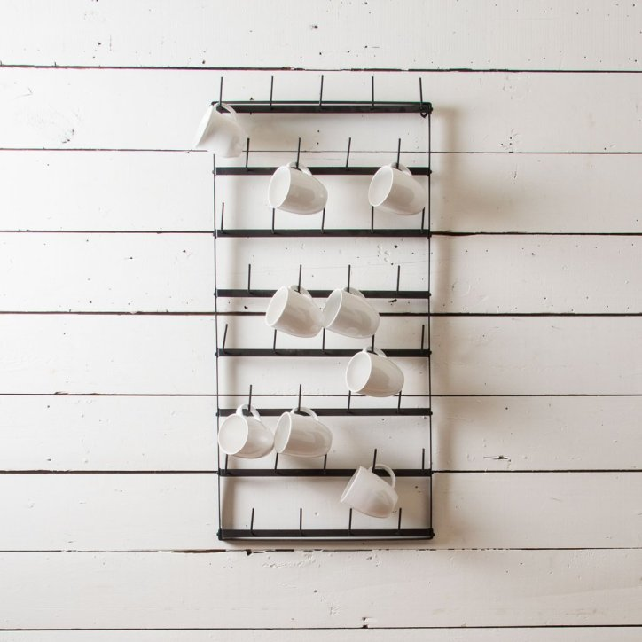 Where To Find Wire Mug Racks A Coastal Cottage